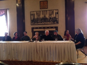 press conference with Maude Barlow, the Council of Canadians, and the Coalition