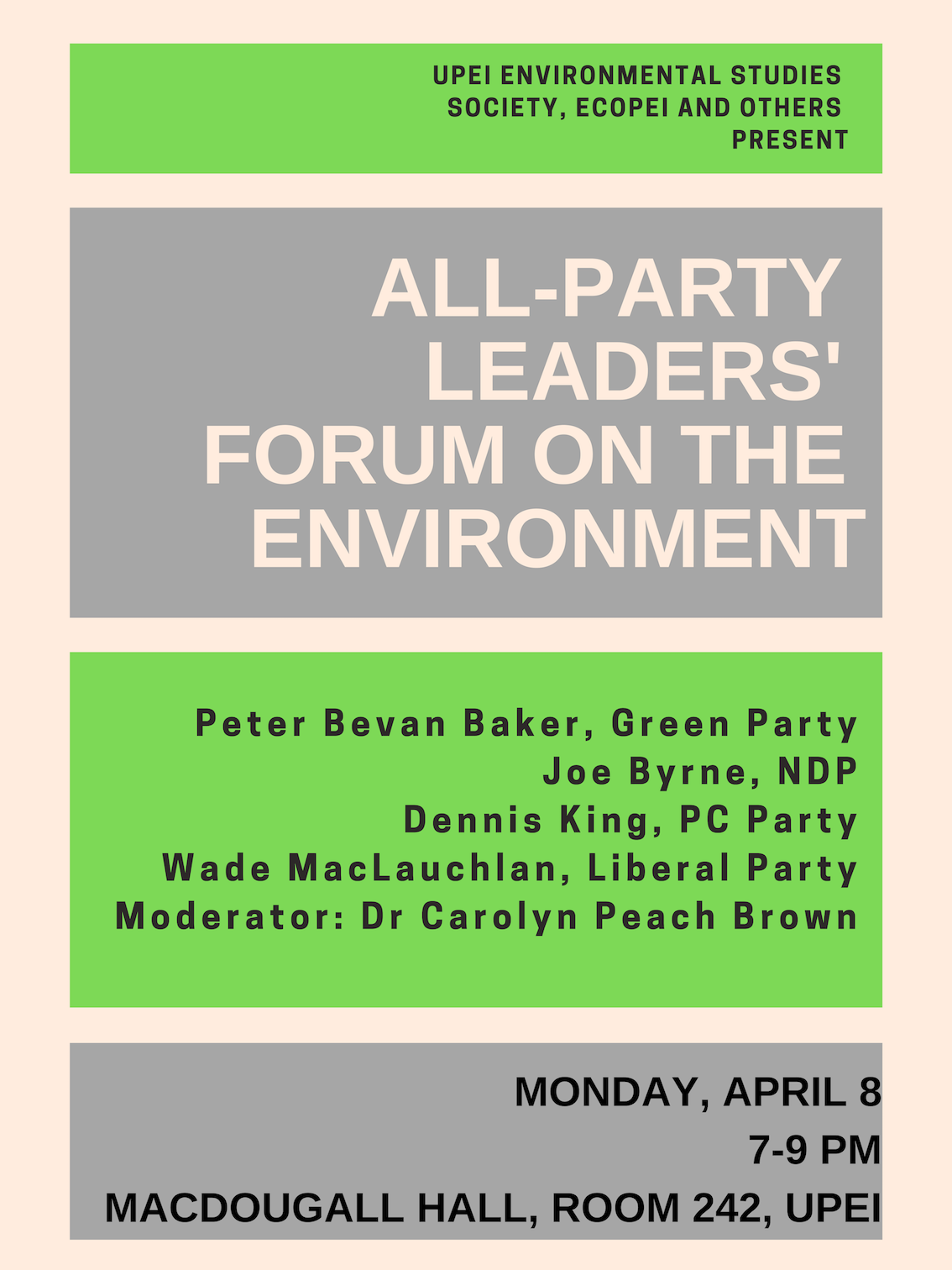 leaders' forum on the environment